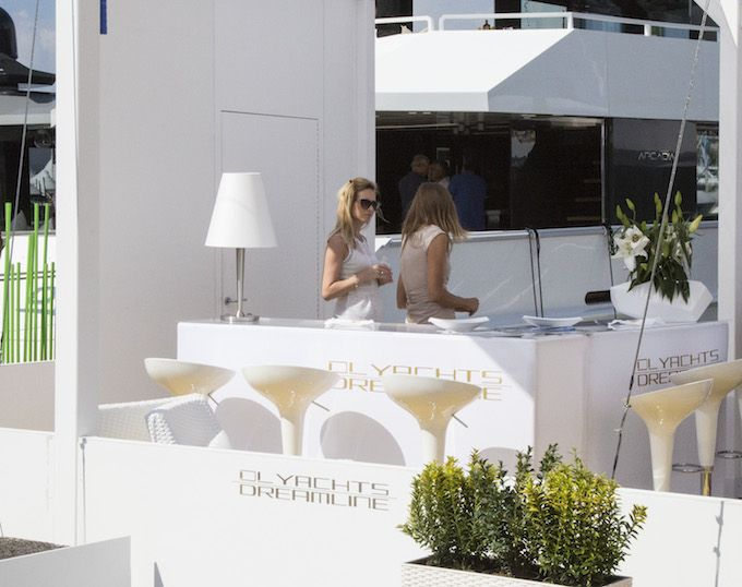 Working hard at Cannes Yachting Festival 2014