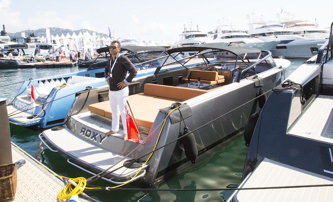 It's my boat! - Cannes Yachting Festival 2014
