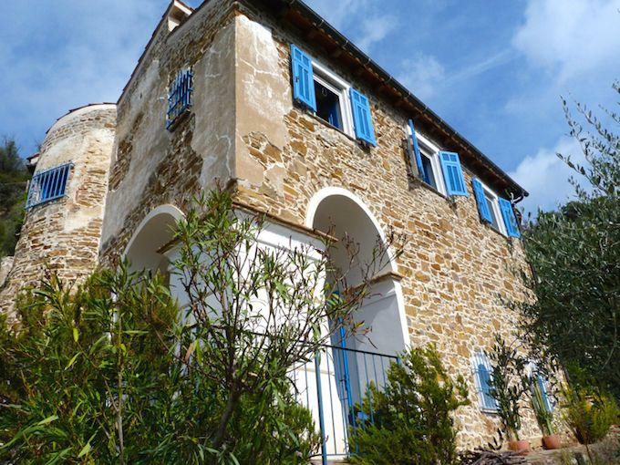 House in Perinaldo in Liguria