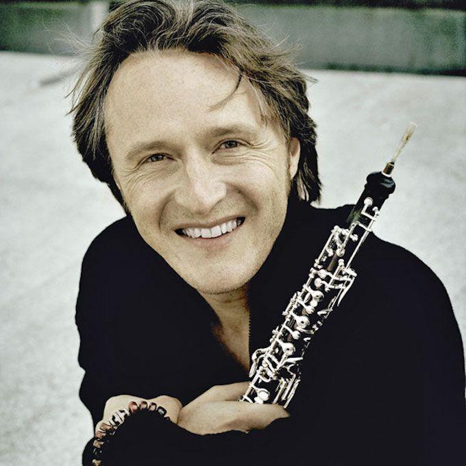 Albrecht Mayer -- oboeist