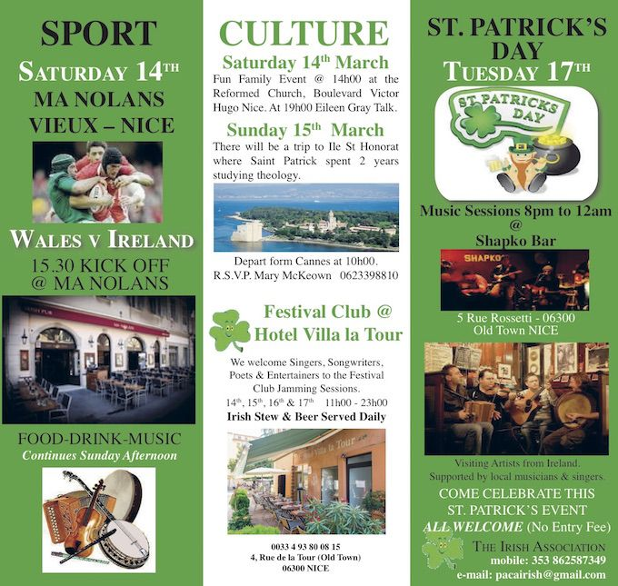 Irish Association St. Patrick's weekend 2015