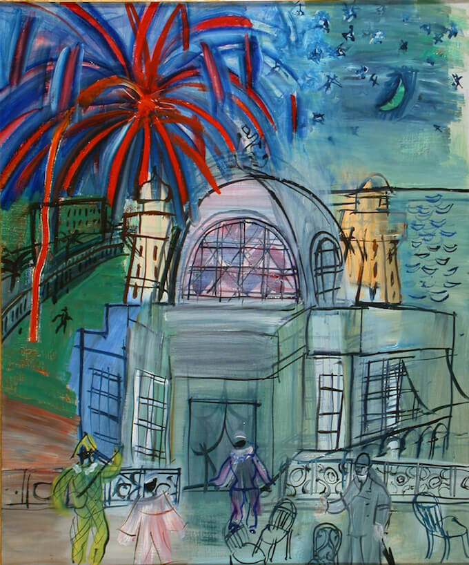 Prom in Nice by Dufy courtesy Ville de Nice