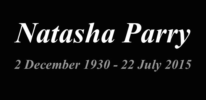 Natasha Parry RIP