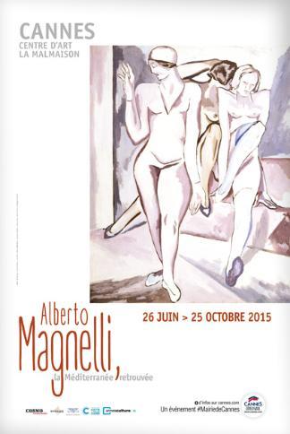 Alberto Magnelli expo @ Cannes