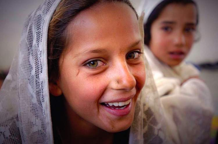 Photo of girl in Afghanistan © Sebastian Rich