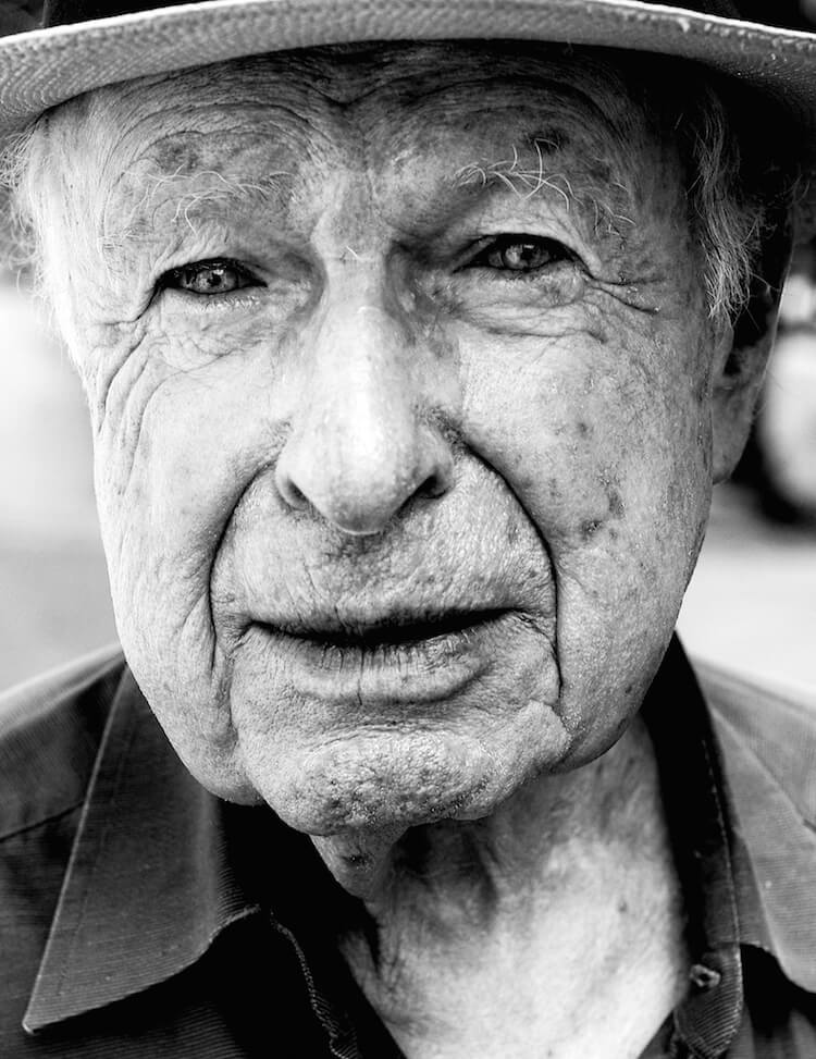 Peter Brook © Marian Adreani