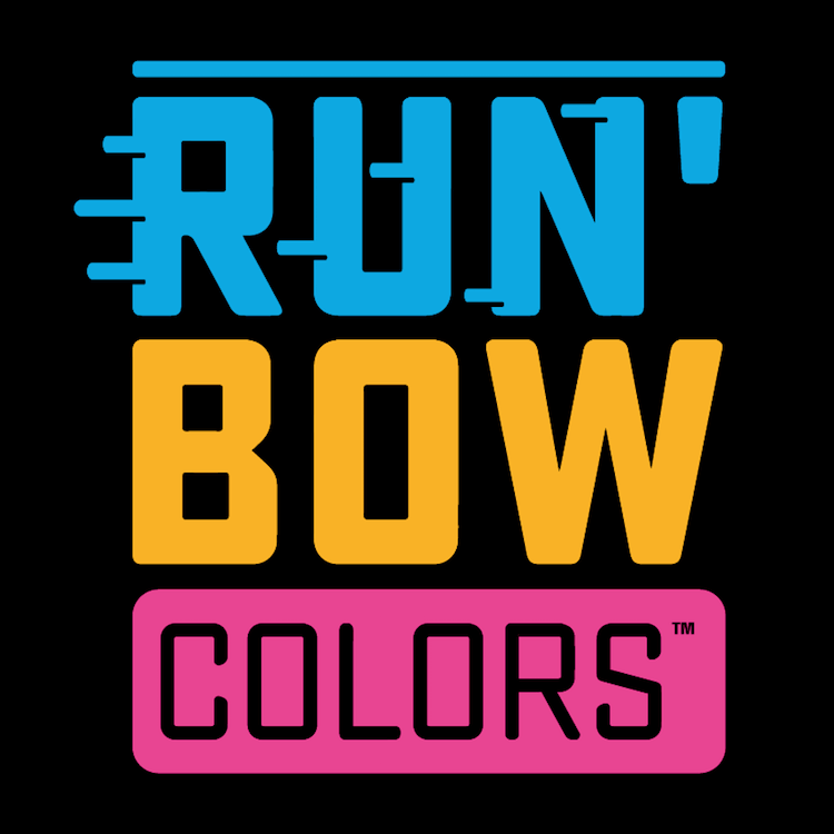 Run'Bow Colors™ logo