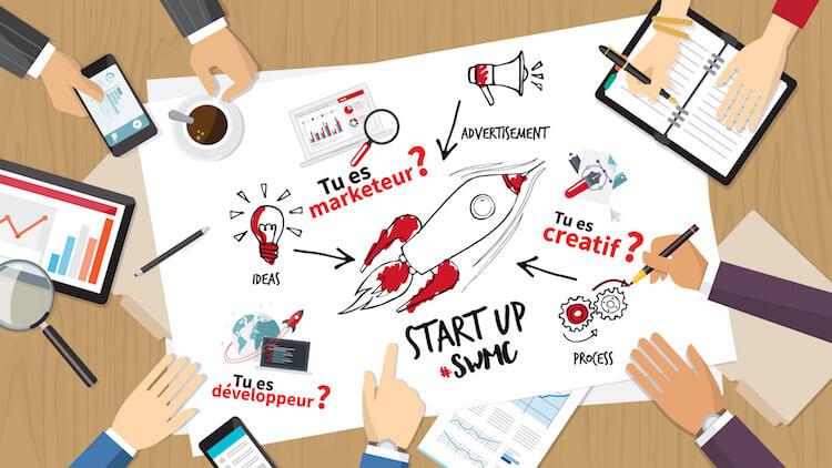 Monaco Startup Weekend professions