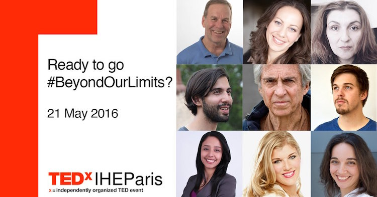 TEDxIHEParis speakers 2016