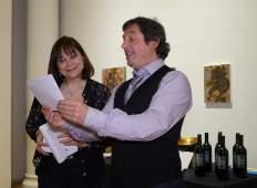 Marc Duret and Nora Armani SRFF16