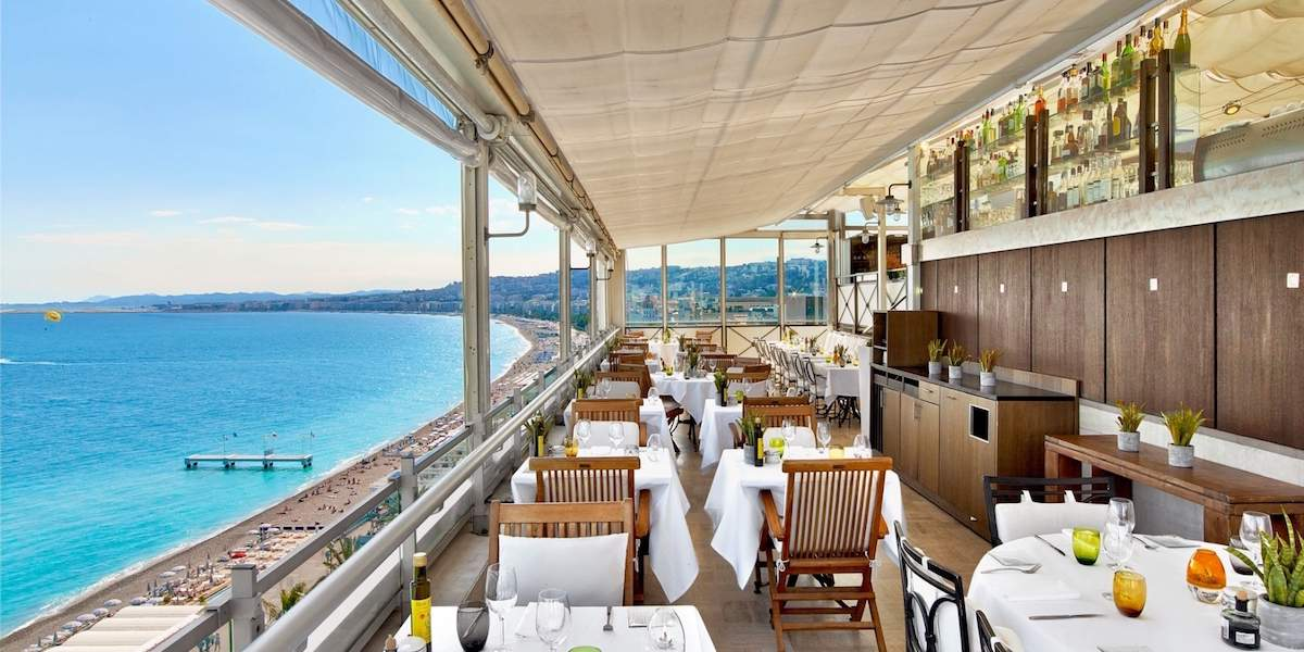 5 of the Best: Restaurants with Views in Nice | Riviera Buzz