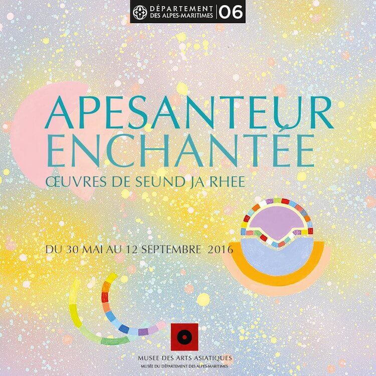 Apesanteur Enchantée Korean exhibition in Nice