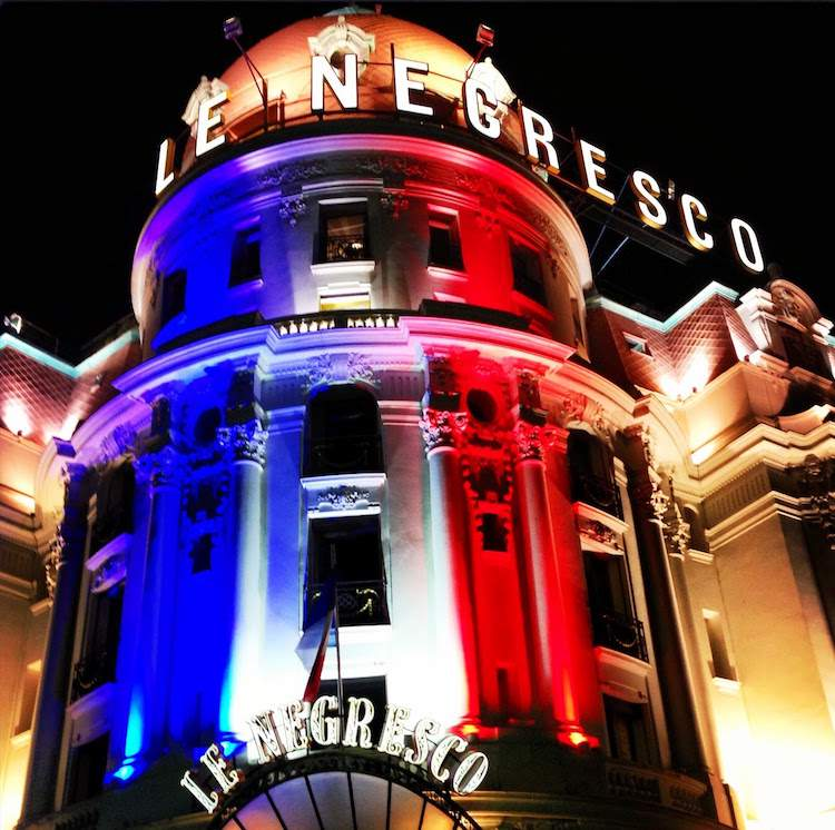 Hotel Negresco Bastille Day 2013