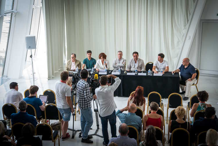Cannes Gala Maya Plisetskaya presser