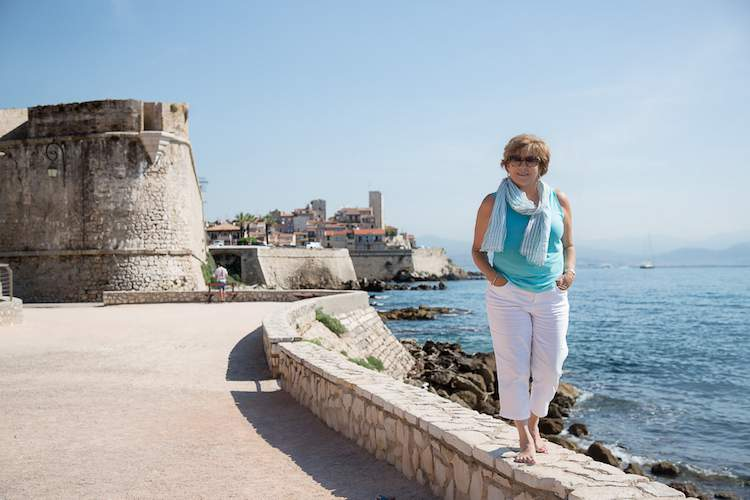 Patricia Sands in Antibes