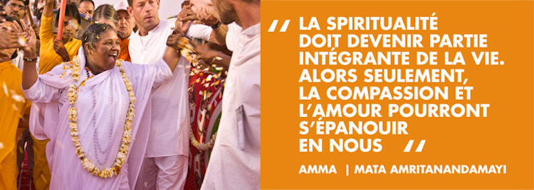 Amma coming to Toulon