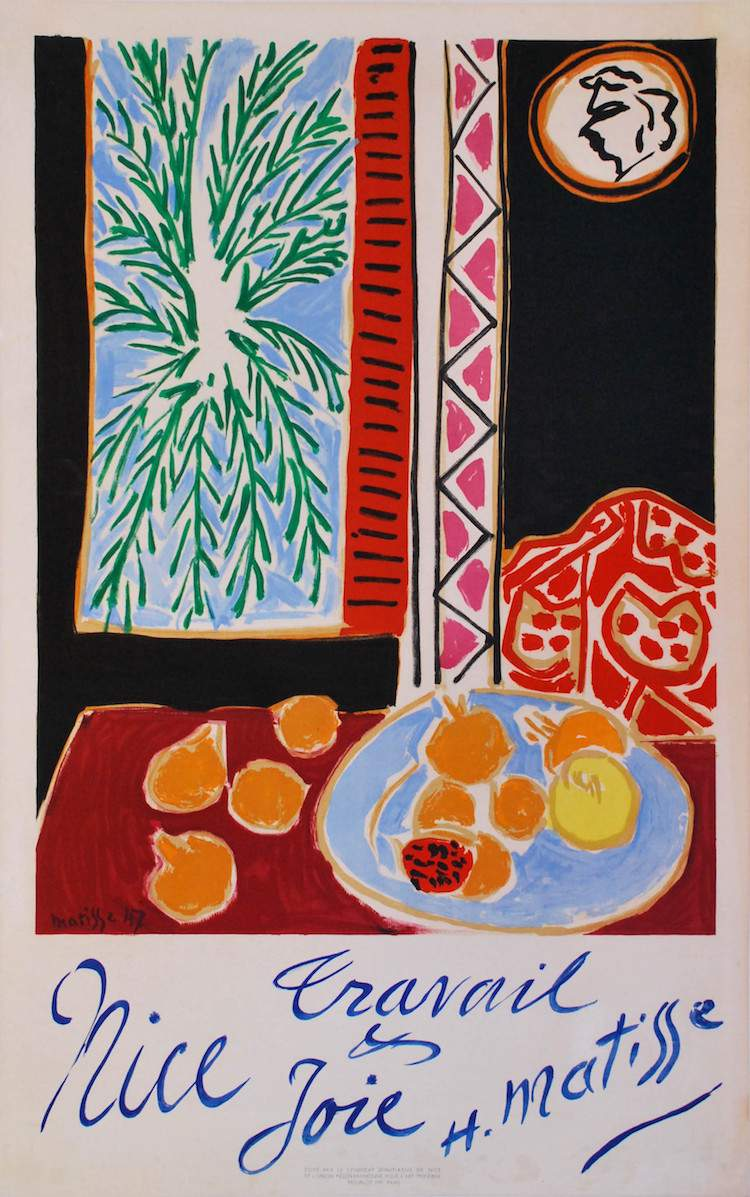 Henry Matisse - Nice, Travail et Joie 1949
