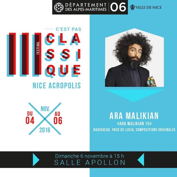Ara Malikian in Nice