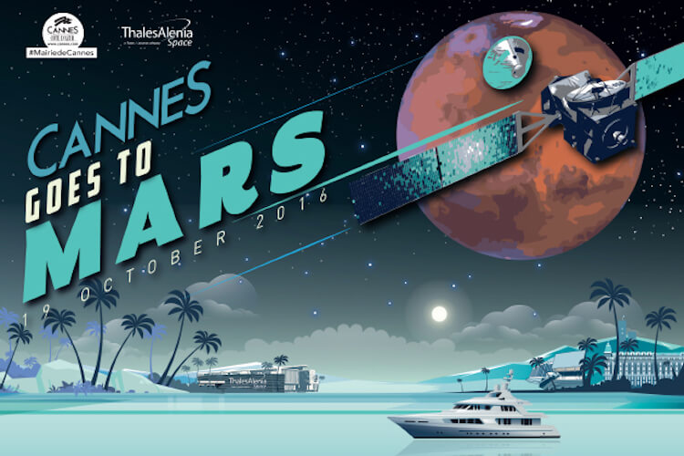 Cannes Goes to Mars poster