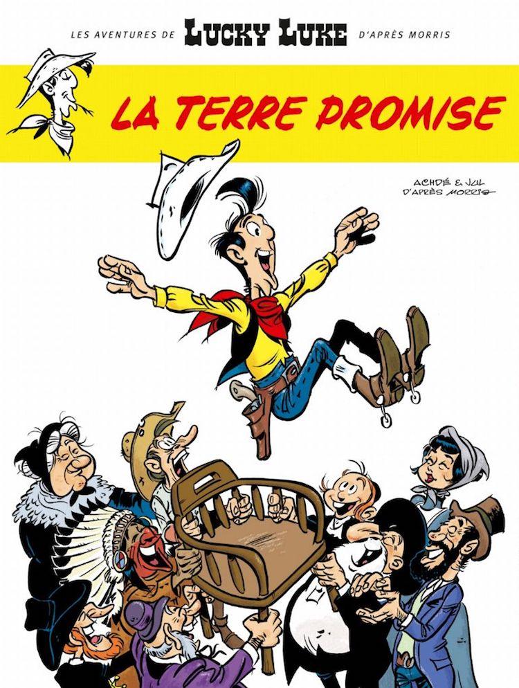 Lucky Luke La Terre Promise poster
