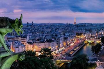 Paris skyline © Pedro Lastra