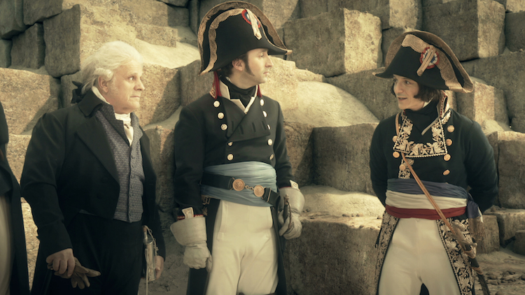 Berthollet, Caffarelli and Bonaparte