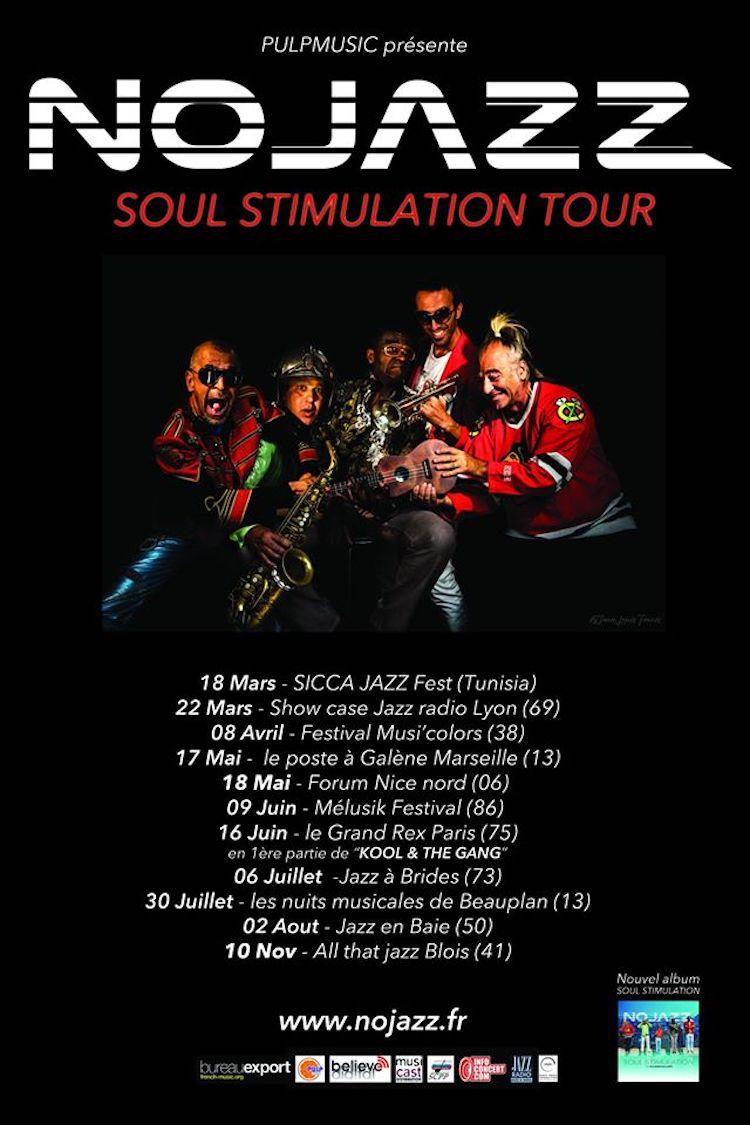 Nojazz tour dates 2017