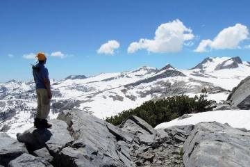 Patrick Robinson in Yosemite