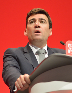 Andy Burnham Mayor of Manchester