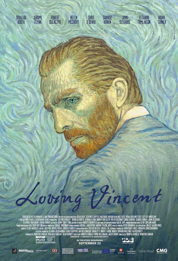 Loving Vincent movei poster