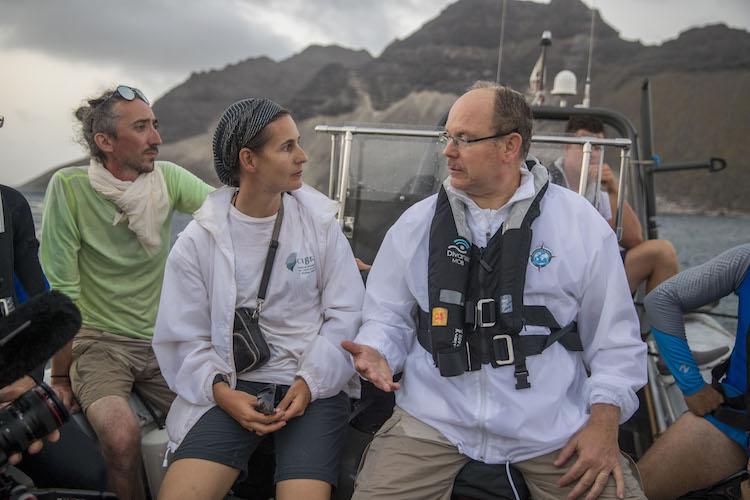 HSH Prince Albert II w. Monaco Explorations