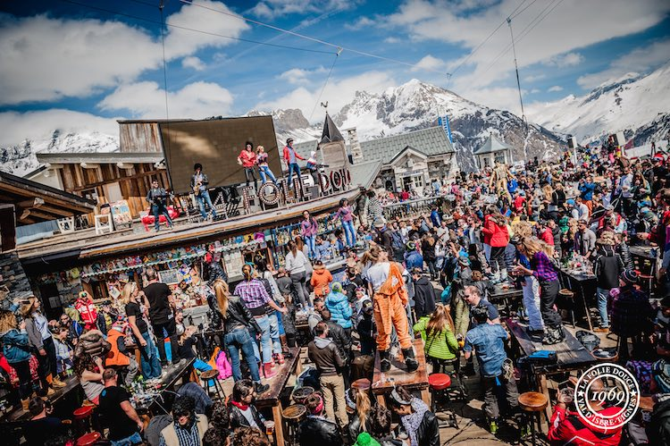 La Folie Douce end of season party