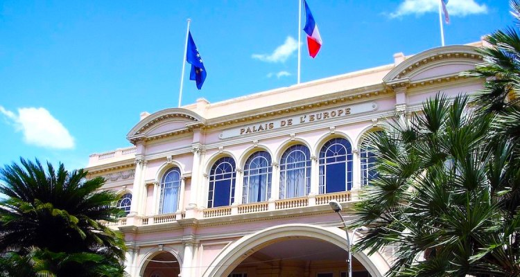 Steeman expo at Palais de l'Europe in Menton