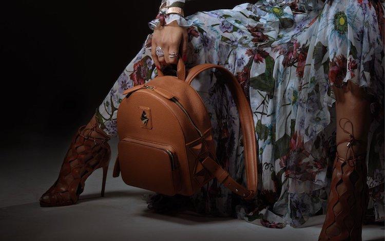Sofia Al Asfoor backpack