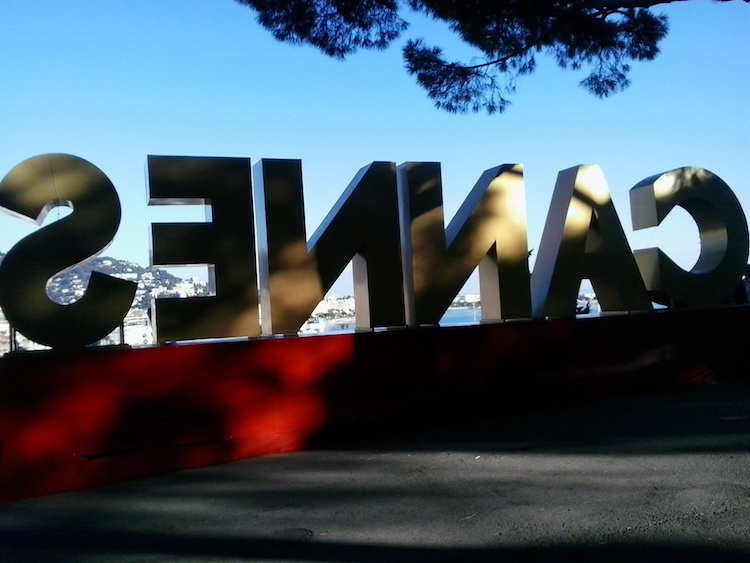 Cannes sign