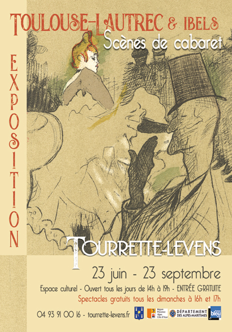 Toulouse-Lautrec expo poster