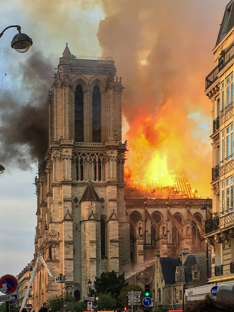 Fire at Notre Dame 2019