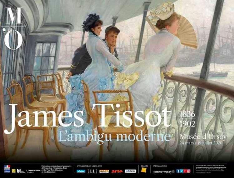 James Tissot summer exhibition Musée d'Orsay