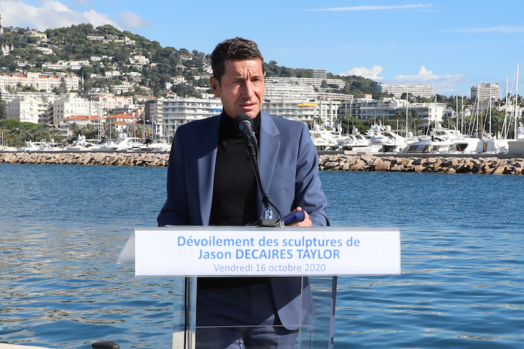 David Lisnard Mayor of Cannes