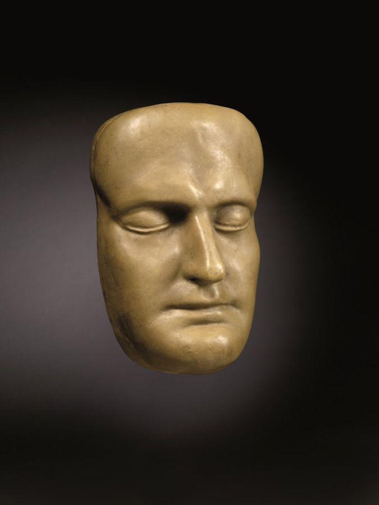 Death mask Musée Masséna
