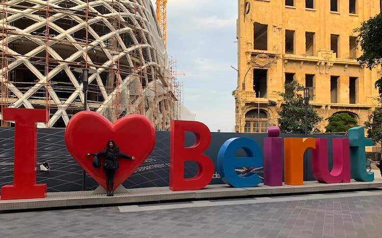 Nada Skaff loves Beirut