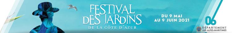 Festival des Jardins banner