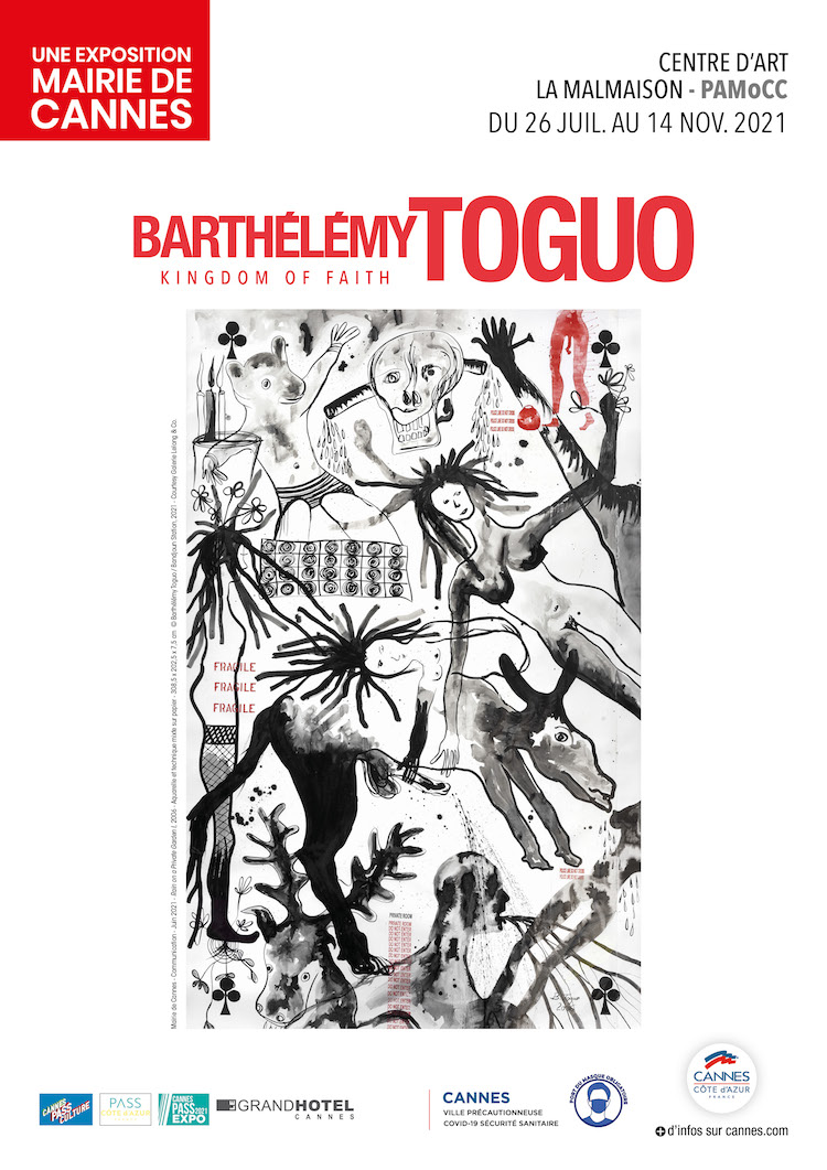 Barthélémy Toguo expo poster