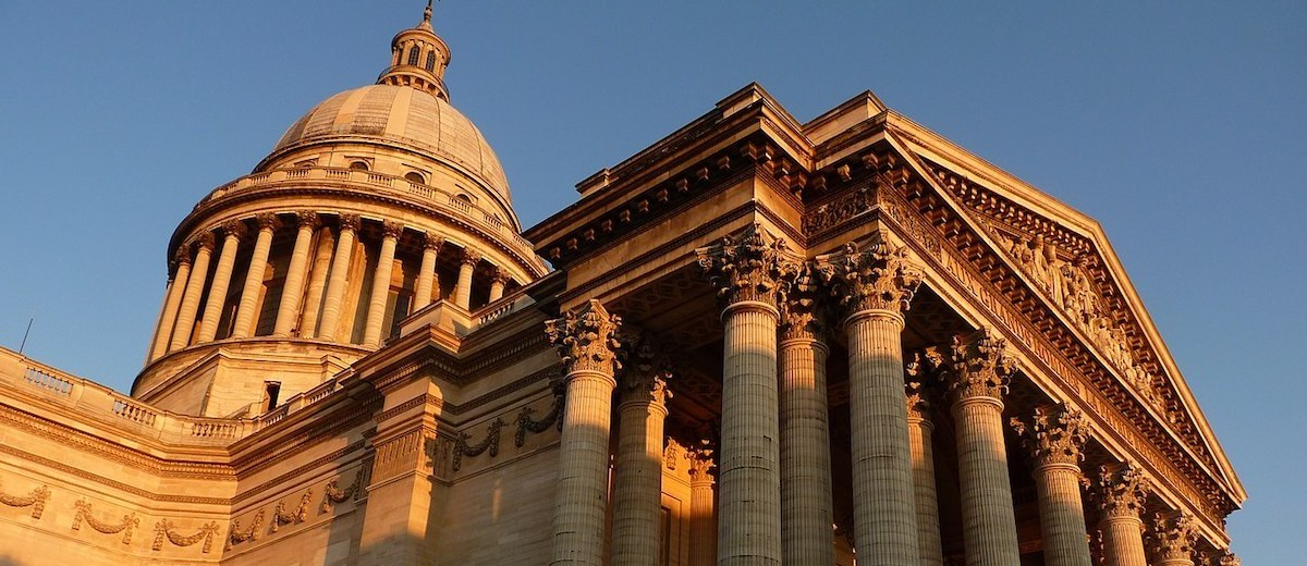 Pantheon Paris via Wikimedia Commons