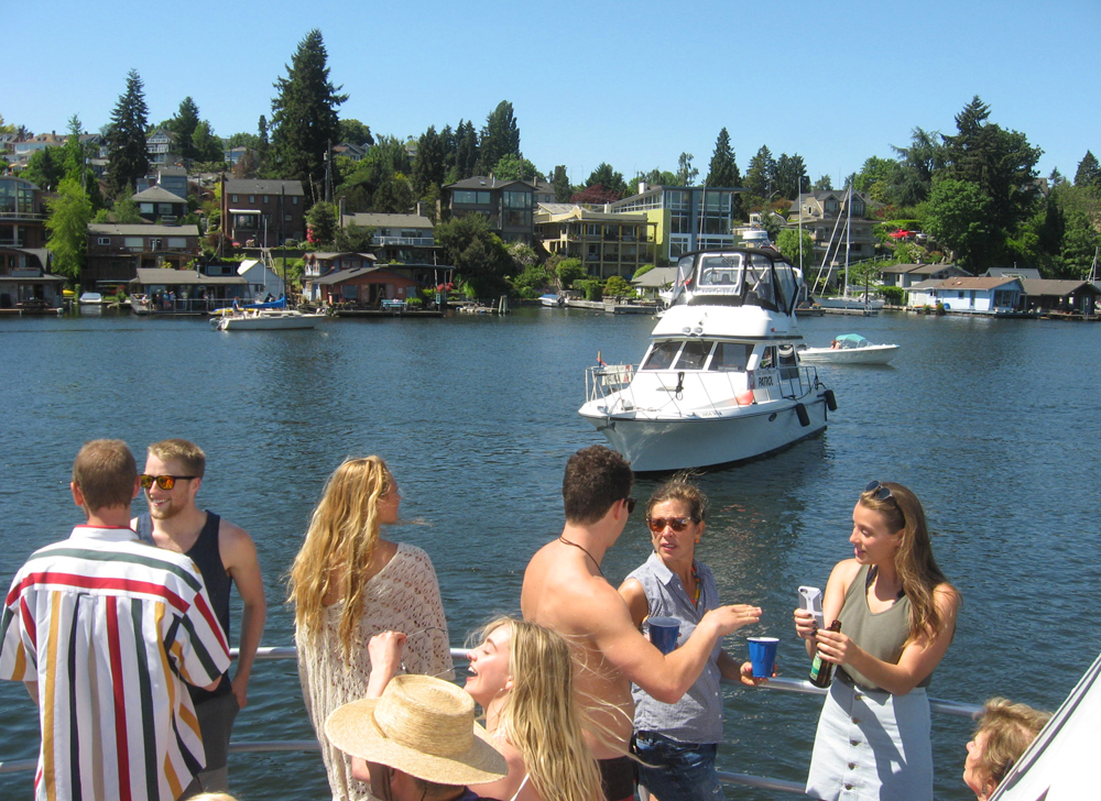 Wedding Boat Charters in Gig Harbor, Seattle, Tacoma, Olympia
