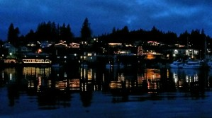 Holiday Lights in Gig Harbor