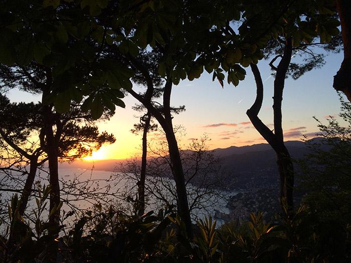 tramonto di Portofino