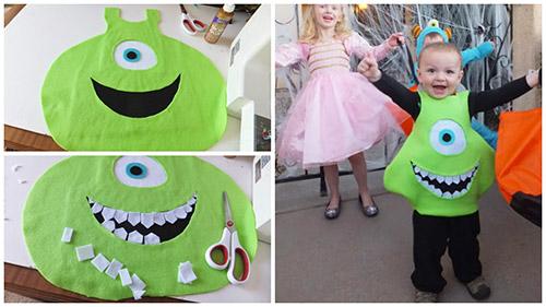 Costumi di Halloween per tutta la famiglia mostro