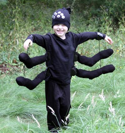 Costumi di Halloween per tutta la famiglia ragnetto