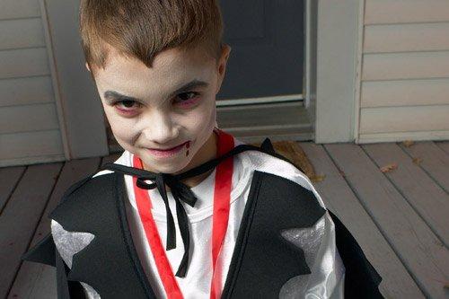 Trucco di carnevale per bambini vampiro